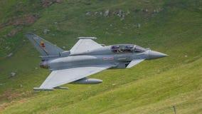 Jet d'Eurofighter Typhoon photos stock