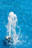 Jet de fontaine Photographie stock libre de droits