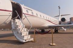 Jet de groupe de Zhonggeng Images stock