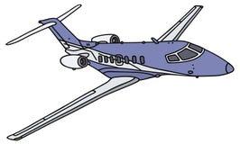 Jet de la pequeña empresa stock de ilustración