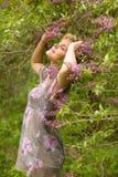 Jet de lilas Image libre de droits