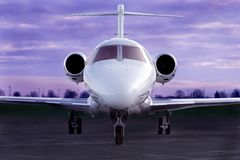 Jet de lujo Foto de archivo