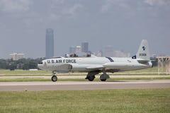Jet de MIG préparant pour décoller Images stock