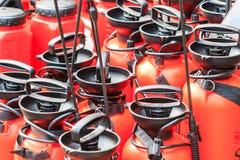 Jet de pompe à eau Image stock