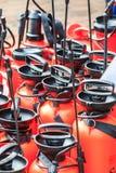 Jet de pompe à eau Images libres de droits