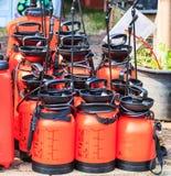 Jet de pompe à eau Photo stock