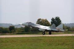 Jet de Sukhoi MAKS-2013 Photos libres de droits