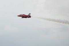 Jet de T1 de faucon sur le salon de l'aéronautique Photographie stock