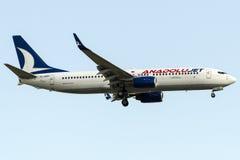 Jet de TC-SBM Anadolu, Boeing 737-8AS Image stock