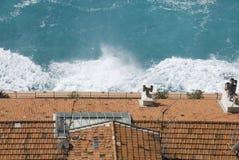 jet de toits Photographie stock libre de droits