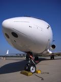 Jet del asunto Foto de archivo libre de regalías