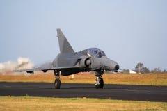 Jet del ataque de la fuerza aérea imagen de archivo