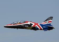 Jet del falco di RAF Immagini Stock