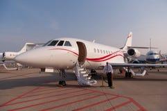 Jet del halcón de Dassault Imagenes de archivo