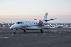 Jet del negocio Imagen de archivo libre de regalías