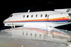 Jet 1965 del negocio del HS Foto de archivo