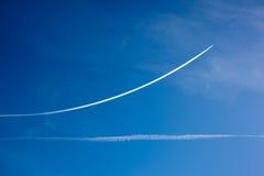 Jet della traccia Fotografie Stock