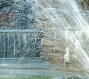 Jet di acqua dalla fontana Fotografia Stock Libera da Diritti