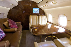 Jet di affari fotografia stock