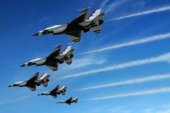 Jet di esposizione di aria Immagine Stock