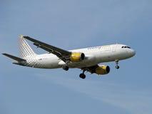 Jet di linee aeree di Vueling Immagini Stock Libere da Diritti