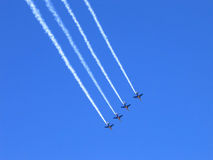 Jet Display Team Royalty Free Stock Photo
