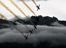 Jet display team Stock Image