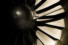 Jet engine Royalty Free Stock Photography