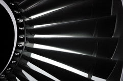 Jet Engine 4 Royalty Free Stock Image