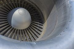 Jet Engine Fotos de Stock Royalty Free