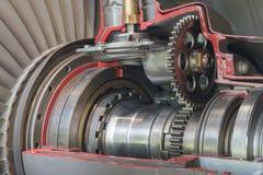 Jet Engine royaltyfria bilder