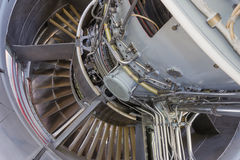Jet Engine Immagine Stock