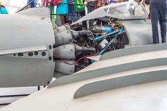 Jet Engine Image stock