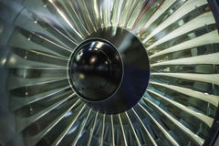 Jet Engine. The aircraft engines, jet aircraft royalty free stock image