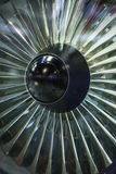 Jet Engine. The aircraft engines, jet aircraft stock image