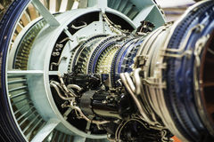 Jet Engine. The aircraft engines, jet aircraft stock photography