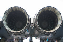 Jet Engine. The aircraft engines, jet aircraft royalty free stock photography