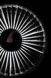 Jet engine background Stock Photo