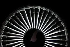 Jet engine background Stock Photography