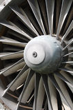 Jet engine close up Royalty Free Stock Photography