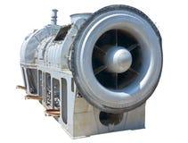 Jet engine close-up Stock Photography