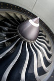 Jet Engine Close up Royalty Free Stock Photos
