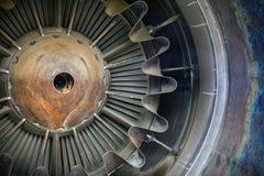 Jet engine close up photo Stock Images
