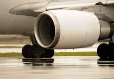Jet engine closeup Stock Photos