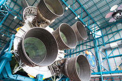 Jet engine components Stock Photo