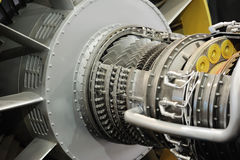 Jet engine detail royalty free stock image