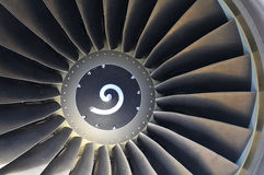Jet engine detail Royalty Free Stock Photos