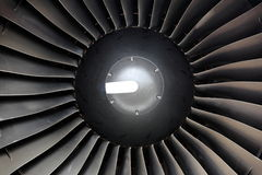 Jet engine detail Stock Photography