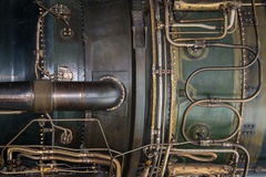 Jet engine detail Royalty Free Stock Image