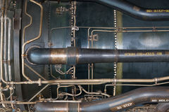Jet engine detail Stock Image